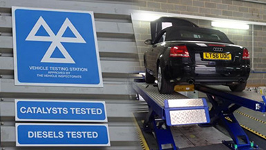 Vehicle Testing Station